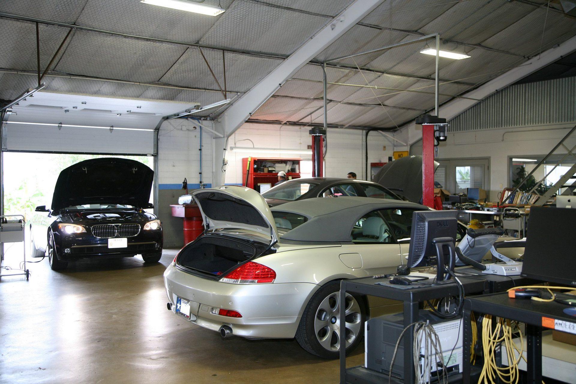 6-series BMW Maintenance